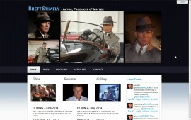 Brett Stimely - Professional portfolio and News site