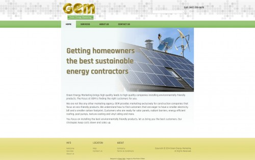 Green Energy Marketing