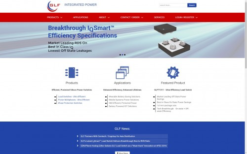 GLFipower.com website overhaul