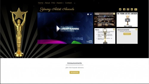 youngartistawards.org makeover